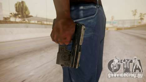 USP 45 from CoD MW для GTA San Andreas третий скриншот
