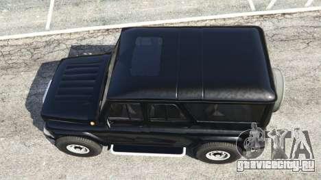 УАЗ-3159 Барс [Beta] для GTA 5 вид сзади
