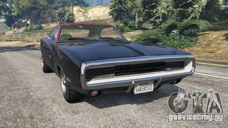 Dodge Charger RT 1970 v3.1 для GTA 5