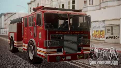 GTA 5 MTL Firetruck IVF для GTA San Andreas