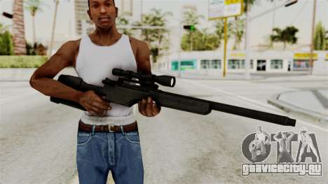 Rifle from RE6 для GTA San Andreas третий скриншот