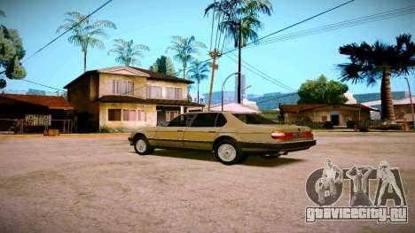 BMW 735il E32 1992 для GTA San Andreas вид справа