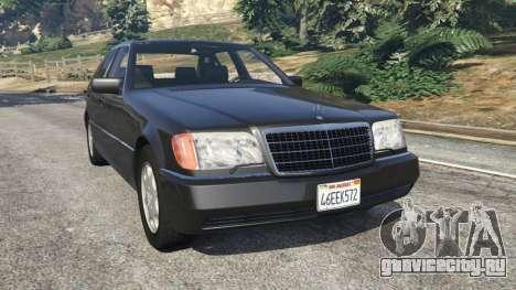 Mercedes-Benz S600 (W140) для GTA 5