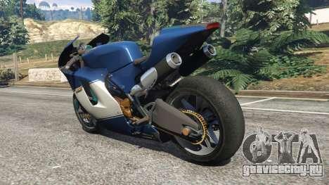 Ducati Desmosedici RR 2012 для GTA 5 вид сзади слева