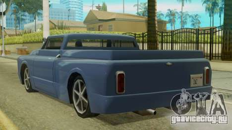 Kounts Pickup PaintJob для GTA San Andreas вид слева