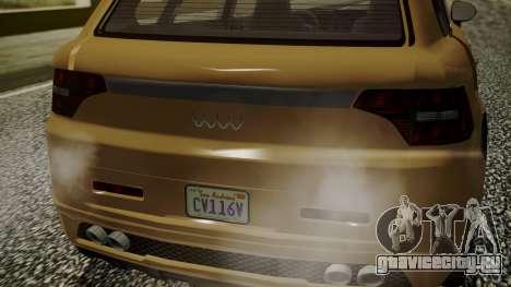 GTA 5 Obey Rocoto для GTA San Andreas вид сзади слева