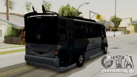 Marcopolo Boxer Ammosa для GTA San Andreas вид слева