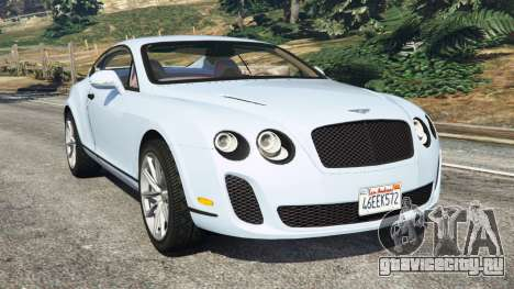 Bentley Continental Supersports [Beta] для GTA 5