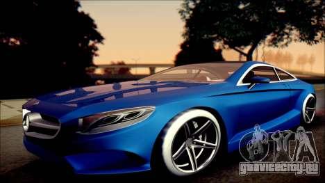 Mercedes-Benz S Coupe Vossen cv5 2014 для GTA San Andreas