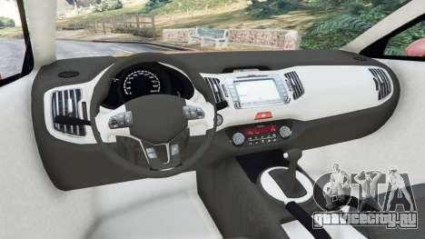Lada XRAY для GTA 5 вид справа