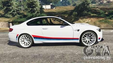 BMW M3 GTS для GTA 5 вид слева