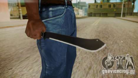 GTA 5 Machete (From Lowider DLC) для GTA San Andreas третий скриншот