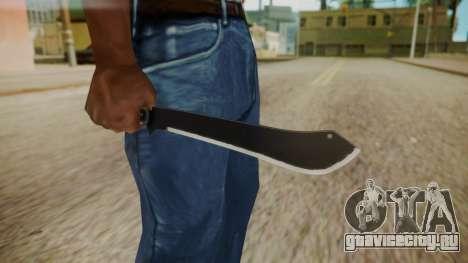 GTA 5 Machete (From Lowider DLC) для GTA San Andreas третий скриншот