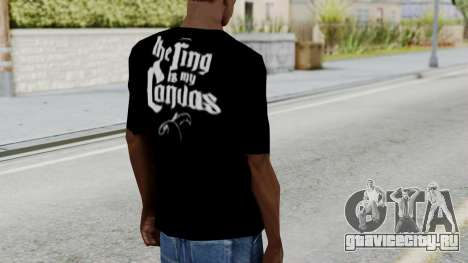 Jeff Hardy Shirt v3 для GTA San Andreas третий скриншот