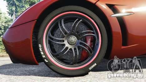 Pagani Huayra 2013 для GTA 5 вид сзади справа