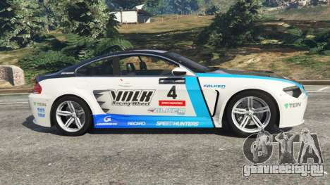 BMW M6 (E63) WideBody v0.1 [Volk Racing Wheel] для GTA 5 вид слева