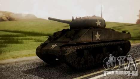 M4A3 Sherman для GTA San Andreas