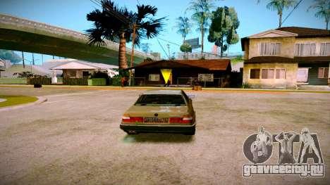 BMW 735il E32 1992 для GTA San Andreas вид слева