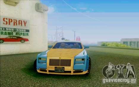 Rolls-Royce Ghost Mansory для GTA San Andreas