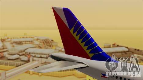 Airbus A310-300 Philippine Airlines Livery для GTA San Andreas вид сзади слева