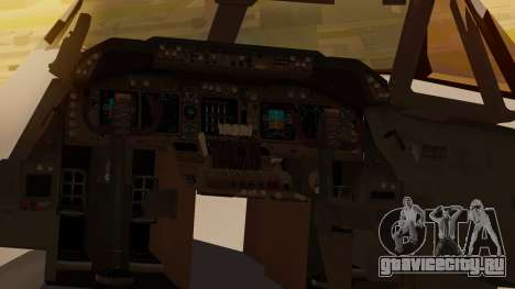 Boeing 747-100 All Nippon Airways для GTA San Andreas вид сзади