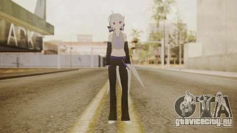Project Diva Dreamy Theater - Yowane Haku для GTA San Andreas второй скриншот