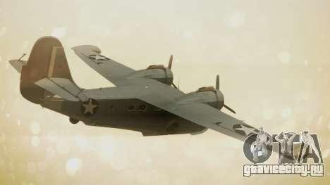 Grumman G-21A Goose для GTA San Andreas вид слева
