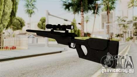 Rifle from RE6 для GTA San Andreas второй скриншот