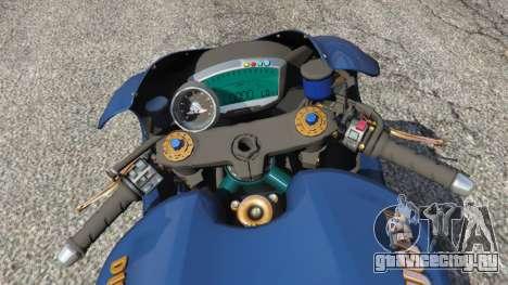 Ducati Desmosedici RR 2012 для GTA 5 вид сзади справа