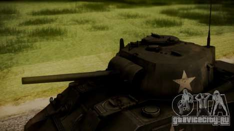 M4A3 Sherman для GTA San Andreas вид справа
