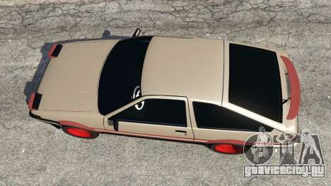 Toyota AE86 Sprinter [Beta] для GTA 5