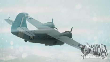 Grumman G-21 Goose Military для GTA San Andreas вид слева
