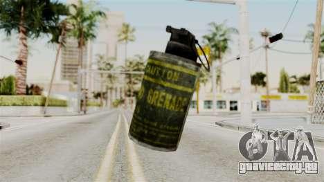 Grenade from RE6 для GTA San Andreas второй скриншот