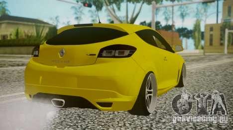 Renault Megane RS для GTA San Andreas вид слева
