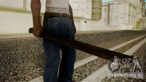 Machete from Friday the 13th Movie для GTA San Andreas
