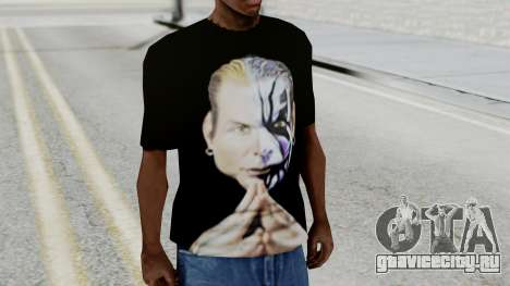 Jeff Hardy Shirt v3 для GTA San Andreas второй скриншот