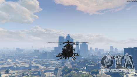 MH-6/AH-6 Little Bird Marine для GTA 5