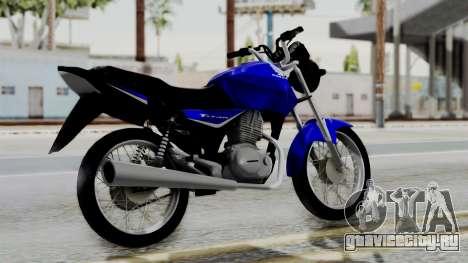 Honda CG Titan 2014 для GTA San Andreas вид слева