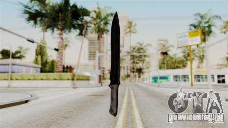 Knife from RE6 для GTA San Andreas второй скриншот