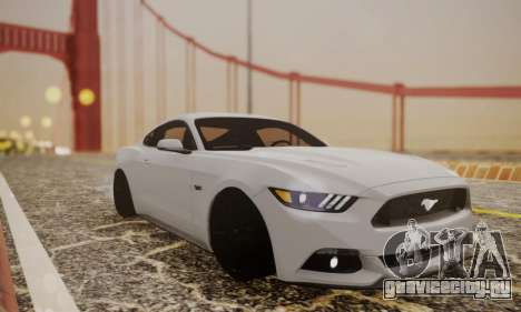 Ford Mustang GT 2015 Stock для GTA San Andreas