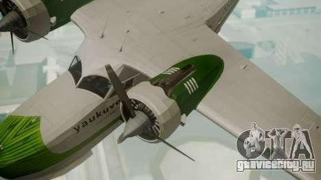 Grumman G-21 Goose DQAYL для GTA San Andreas вид справа