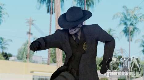 SkullFace Mask and Hat для GTA San Andreas