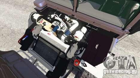 Hummer H1 v2.0 для GTA 5 вид справа