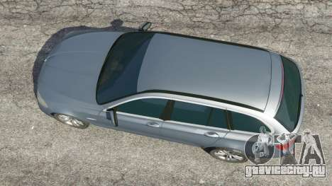 BMW 525d (F11) Touring 2015 (US) для GTA 5 вид сзади