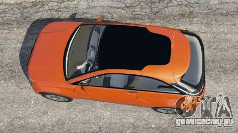 Lada XRAY для GTA 5 вид сзади