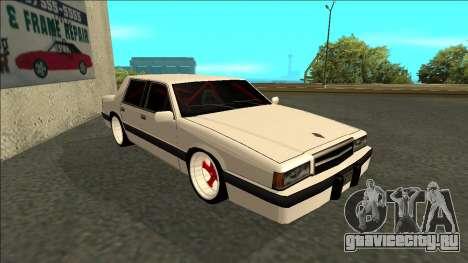 Willard Drift для GTA San Andreas вид слева