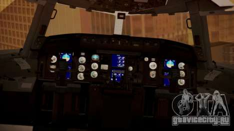 Boeing 767-300 Orbit Airlines для GTA San Andreas вид сзади