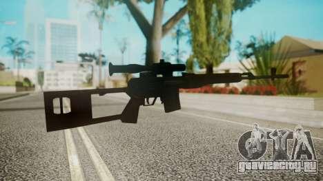 Sniper Rifle by EmiKiller для GTA San Andreas второй скриншот