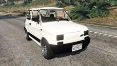 Fiat 126p v0.5 для GTA 5