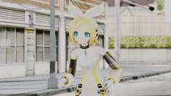 Project Diva F 2nd - Kagamine Rin Append для GTA San Andreas